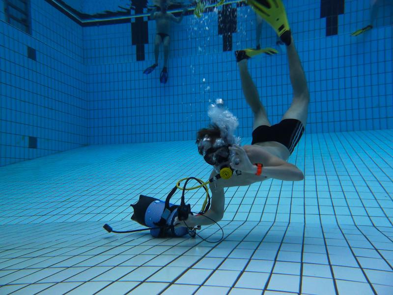Beispiel im Pool