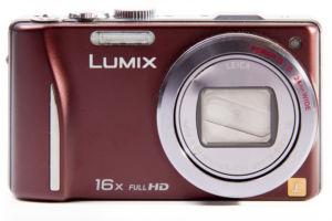 Lumix TZ22 Vorderseite