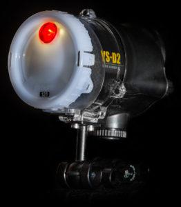 Rotlicht am Sea&Sea YS-D2