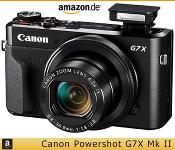 Canon G7X Mk II