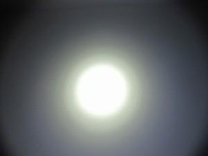 Taucherlampe - 10° Spot  weich abfallend
