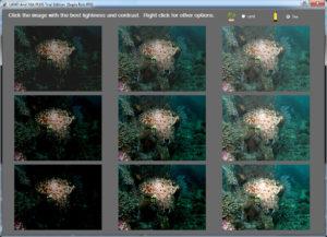 Land and Sea Bildbearbeitung