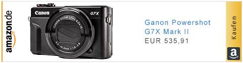 Canon G7X Mk II auf Amazon.de