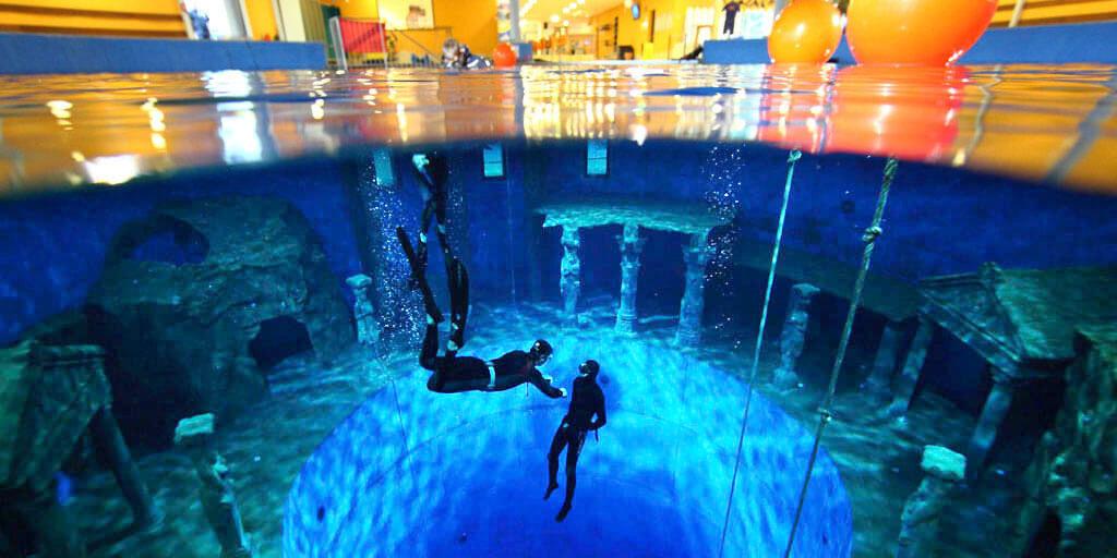Dive4Life Indoor-Tauchzentrum in Siegburg