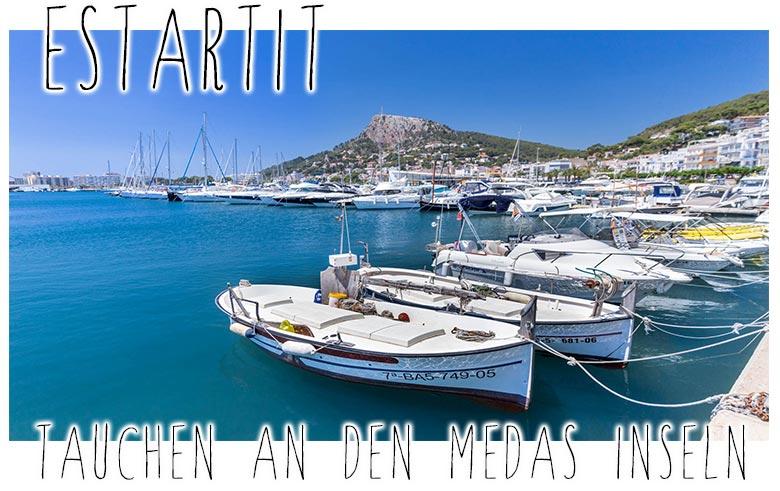 Estartit Tauchen an den Medas Inseln