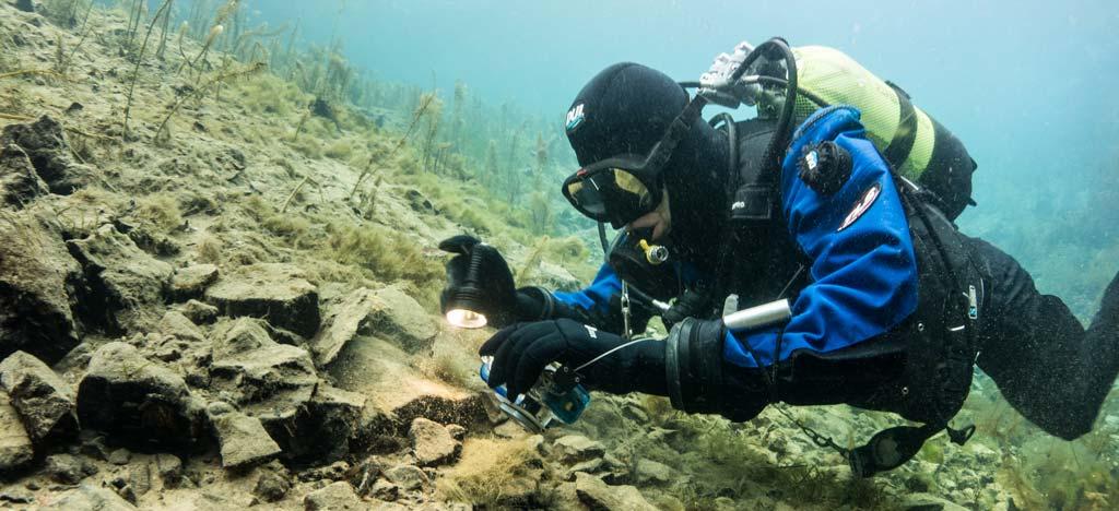 Retraktor Unterwasserkamera
