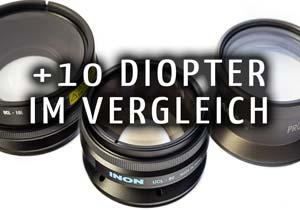 Makro Diopter Vergleich