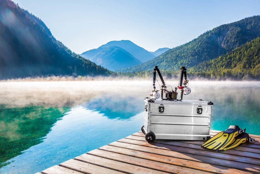Die Zarges K 424 XC Mobil Box am Plansee