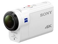 Sony FDR-X1000 4K Action Cam mit 4K@100/60Mbps, Full HD@50Mbps, ZEISS Tessar Objektiv mit 170  Grad Weitwinkel, Ohne Pixel Binning, Zeitlupenaufnahmen)